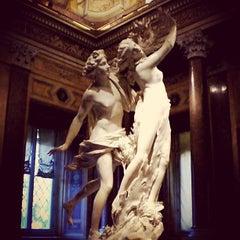 Photo taken at Galleria Borghese by Irina on 8/26/2012