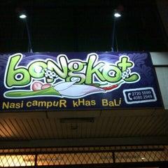 Photo taken at Bongkot Nasi Campur Khas Bali by Herry H. on 7/6/2012