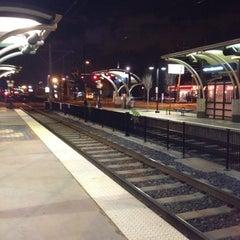 Photo taken at LYNX Scaleybark Station by Patrick L. on 12/17/2011