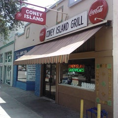Photo taken at Coney Island Sandwiches & Grill by Byron N. on 8/22/2011