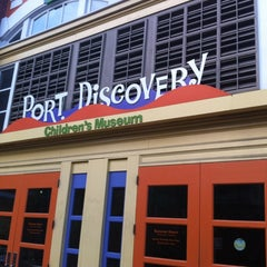 Photo taken at Port Discovery Children's Museum by Randy C. on 8/14/2012