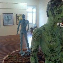 Photo taken at Palácio Potengi (Pinacoteca Potiguar) by Vanessa S. on 10/26/2011