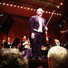 Photo taken at David Geffen Hall by Christopher C. on 5/23/2012