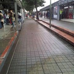 Photo taken at TransMilenio: Héroes by Daniel E. on 4/19/2012