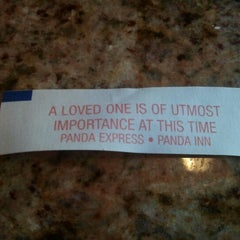 Photo taken at Panda Express Gourmet Chinese Food by Megan H. on 9/8/2012
