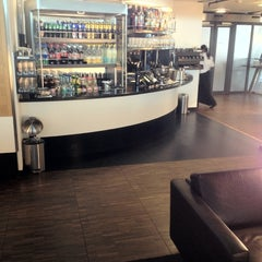 Photo taken at SWISS Business Class Lounge by Jonathan T. on 7/9/2012