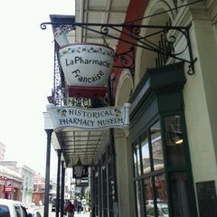 Photo taken at New Orleans Pharmacy Museum by Chris P. on 6/6/2012