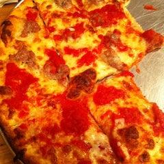 Photo taken at De Lorenzo's Tomato Pies by Jamie (. on 1/21/2011