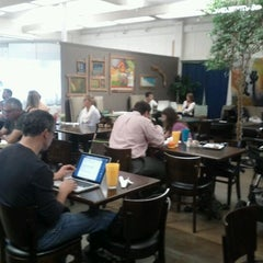 Photo taken at The Novel Cafe by Munjal T. on 9/28/2011