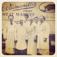 Photo taken at Ottomanelli's Meat Market by Jamyn E. on 11/12/2011