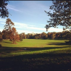 Photo taken at Prospect Park (Long Meadow) by Kelpen H. on 10/28/2011