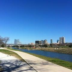 Photo taken at Trinity River Park by dane k. on 1/20/2012