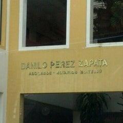Photo taken at Oficina Dr. Peréz Zapata by José Antonio L. on 9/12/2012