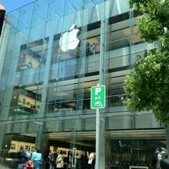 Photo taken at Apple Store, Boylston Street by Samira Q. on 5/17/2012