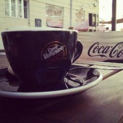 Photo taken at Stardust Coffee by László V. on 7/18/2012
