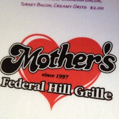 Photo taken at Mother's Federal Hill Grille by Tom R. on 5/12/2012
