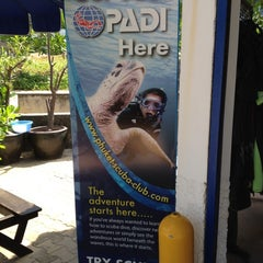 Photo taken at Phuket Scuba Club, Karon Beach by John H. on 3/14/2012