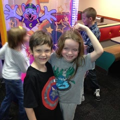 Photo taken at Chuck E. Cheese's by Wally H. on 4/14/2012