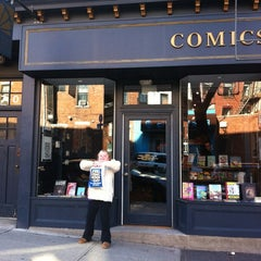 Photo taken at Bergen Street Comics by Chris M. on 1/28/2012
