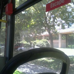 Photo taken at Paradero PC876 (Parada 5) by Patricio M. on 2/21/2012
