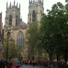 Photo taken at York Minster by Sekyoung(Kei) K. on 6/16/2012
