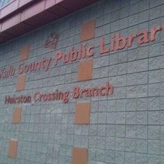 Photo taken at Redan Trotti Library by DJ Bobby D. on 12/20/2011