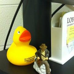 Photo taken at SAGA Office- Loyola University Chicago by Lindsy F. on 4/25/2012