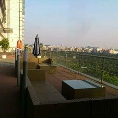 Photo taken at Four Points by Sheraton Guangzhou, Dongpu by Jen C. on 12/25/2011