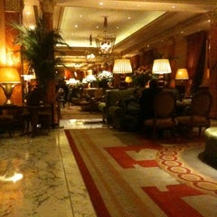 Photo taken at The Dorchester by Alberto C. on 8/5/2012