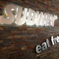 Photo taken at Subway by Claudio J. on 6/22/2012