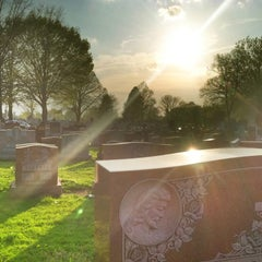 Photo taken at Saint Mary's Cemetery by Dorian K. on 4/25/2011