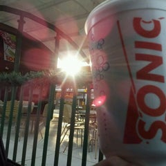 Photo taken at SONIC Drive In by Brian D. on 12/3/2011