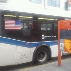 Photo taken at MTA Bus Stop - Q20A/Q20B/Q44 by Hernandez J. on 10/3/2011