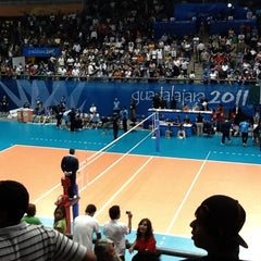 Photo taken at Complejo Panamericano de Voleibol by Alberto E. on 10/30/2011