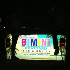 Photo taken at Bimini Boatyard Bar & Grill by Anita M. on 11/29/2011