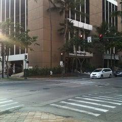 Photo taken at Bell Desk At Hilton Waikiki Prince Kuhio Hotel by Waikiki Mike H. on 6/23/2012