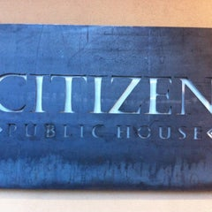 Photo taken at Citizen Public House by Chris M. on 3/30/2012