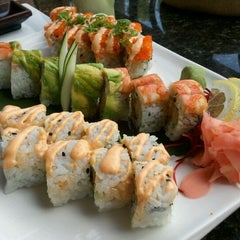 Photo taken at Ari Sushi by Holly R. on 4/14/2012