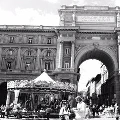 Photo taken at Piazza della Repubblica by Miguel C. on 9/13/2012