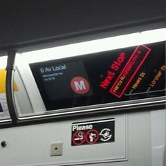 Photo taken at MTA Subway - M Train by Peter R. on 1/27/2012