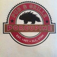 Photo taken at Porcupine Pub & Grille by Alex D. on 4/2/2012