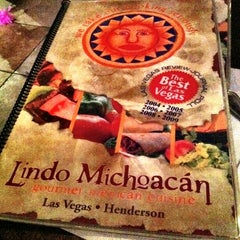 Photo taken at The Original Lindo Michoacan by Daniel T. on 7/3/2011