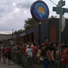 Photo taken at Denver Beer Co. by Jason S. on 8/12/2012