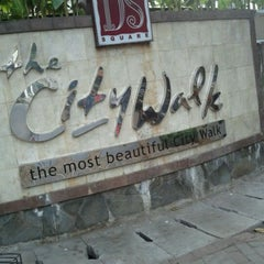 Photo taken at Dharmawangsa Square CityWalk by Reza R. on 10/2/2011