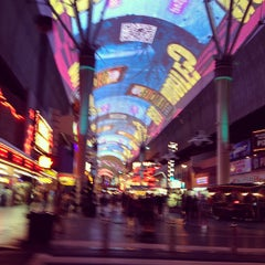 Photo taken at Fremont Street Flightlinez by Fernando V. on 6/15/2012