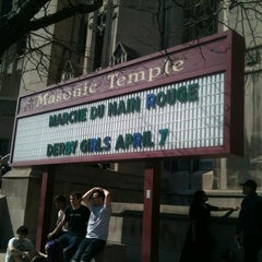 Photo taken at Masonic Temple by Molly M. on 3/25/2012