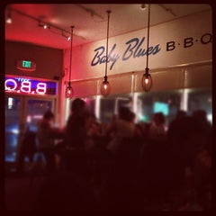 Photo taken at Baby Blues BBQ by Taylor H. on 8/26/2012