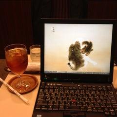 Photo taken at Cafeルノアール ヨドバシAkiba横店 by Yasutaka M. on 5/10/2012