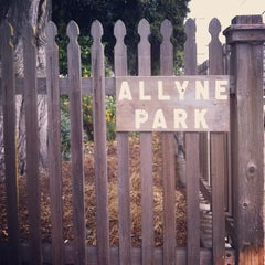 Photo taken at Allyne Park by Mary B. on 8/12/2012