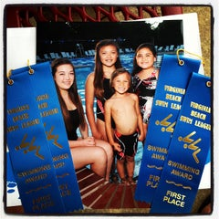 Photo taken at Indian Lakes Stingrays Swim Team by Gerry M. on 7/11/2012